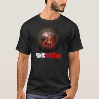 T-shirt criard de lentille de signal d'alarme