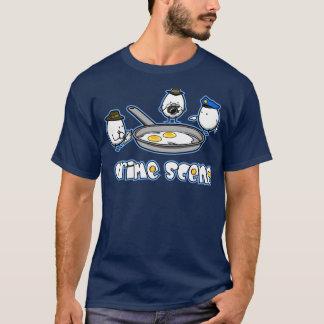 T-shirt Crime d'oeufs
