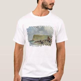 T-shirt Crinolines sur la plage, Fecamp, 1871