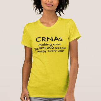 T-shirt CRNAs, faisant plus de, 30.000.000 personnes, e