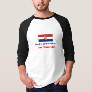 T-shirt Croate Cevapcic