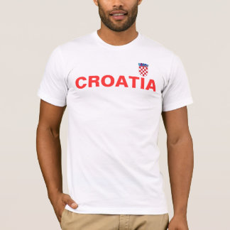 T-shirt croatian_flag, CROATIE