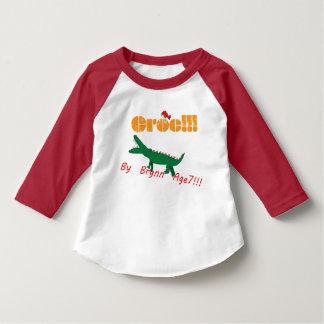 T-shirt Croc ! Par l'âge 7 de Brynn