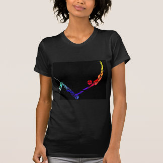 T-shirt Crochet de trapèze de vol