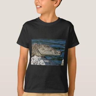 T-shirt Crocodile américain