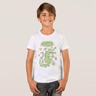 T-shirt Crocodile heureux