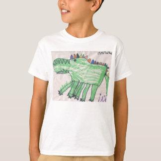 T-shirt Crocodiles pour des enfants par DesignsByKai