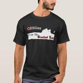 T-shirt Croisé de bastion - plus grand Lord Black