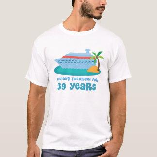 T-shirt Croisière ensemble pendant 39 années de cadeau