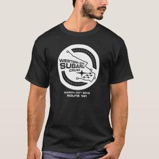 T-shirt Croisière occidentale de l'Iowa Subaru (foncée)
