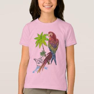 T-shirt Croisière tropicale de perroquet