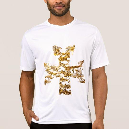 T-shirt Croix armenienne or