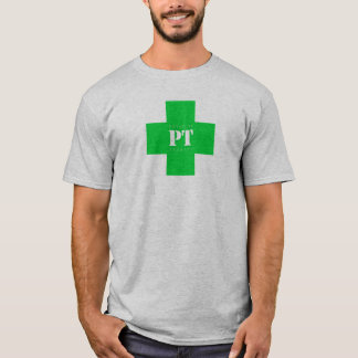 T-shirt Croix de pinte, verte