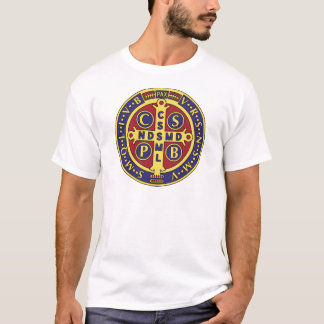 T-shirt Croix de St Benoît