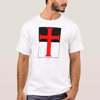 T-shirt Croix de Templar sur Beausant