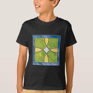 T-shirt Croix en verre souillé