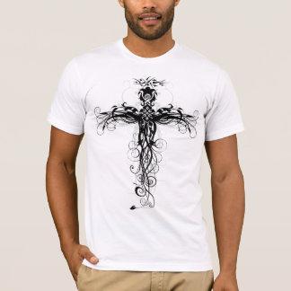 T-shirt Croix florale #5