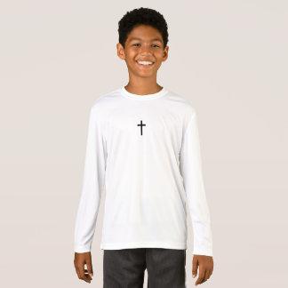 T-shirt Croix noire