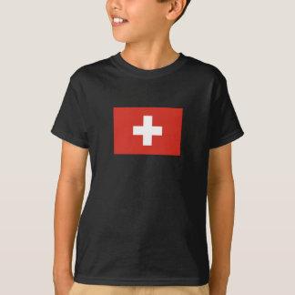 T-shirt Croix-Rouge de drapeau suisse