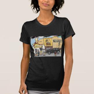 T-shirt Croquis de bande dessinée de la taverne du Texas