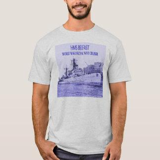 T-shirt Croquis de Belfast de voie HMP