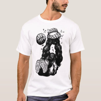 T-shirt Croquis de claquement de monstre !