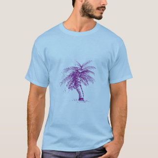 T-shirt Croquis de palmier
