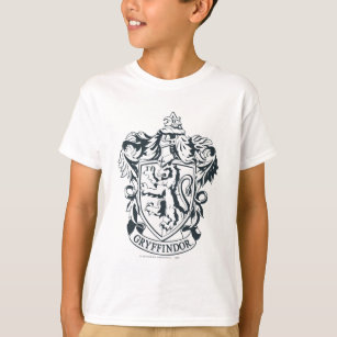 T-shirt Croquis de pochoir de Harry Potter | Gryffindor