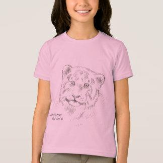 T-shirt Croquis de tigre de bébé