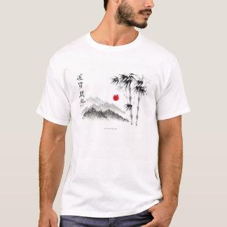 T-shirt Croquis du paysage