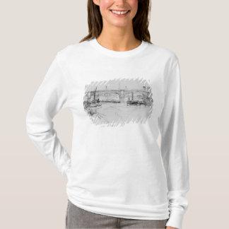 T-shirt Croquis du pont de Londres, 1860