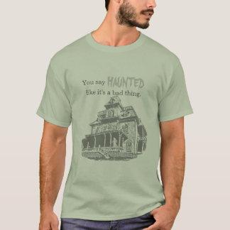 T-shirt Croquis hanté de Chambre