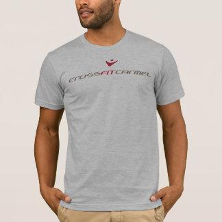 T-shirt CrossfitCarmel - de base, de logo dos dessus