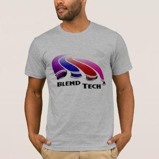 T-shirt Croyance de technologie de mélange