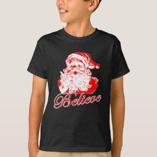 T-shirt Croyez au Père Noël