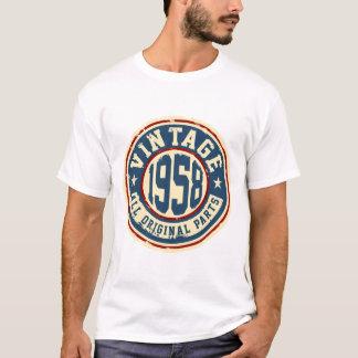 T-shirt Cru 1958 toutes les pièces d'original