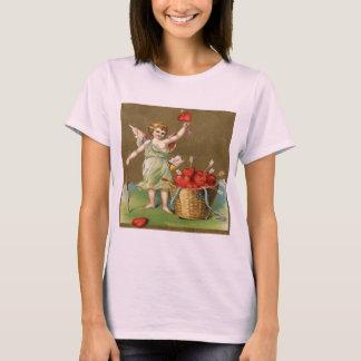 T-shirt Cru, ange de cupidon, flèches, coeurs
