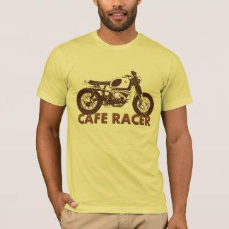 T-shirt Cru de coureur de café