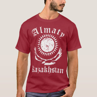 T-shirt Cru de Kazakhstan Almaty