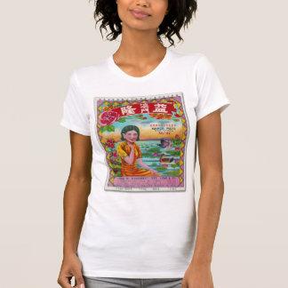 T-shirt Cru de marque de feux d'artifice d'étiquette de