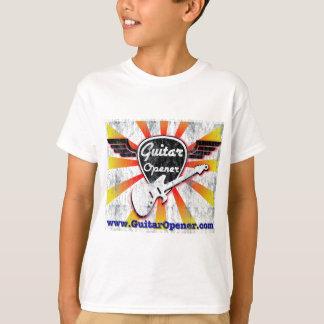 T-shirt Cru d'ouvreur de guitare