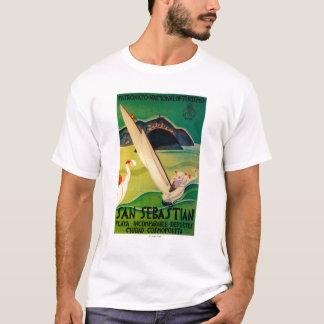T-shirt Cru PosterEurope de San Sebastian
