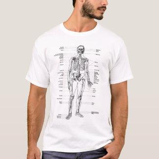 T-shirt Cru - squelette marqué