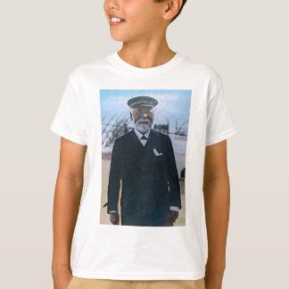 T-shirt Cru titanique de capitaine Edward Smith de RMS