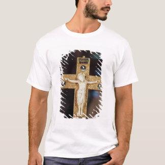T-shirt Crucifix de reliquaire, le Christ en ivoire sur la