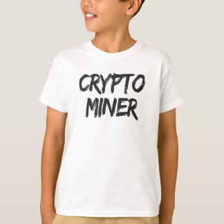T-shirt Crypto copie de Cryptocurrency de mineur