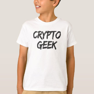 T-shirt Crypto copie de geek