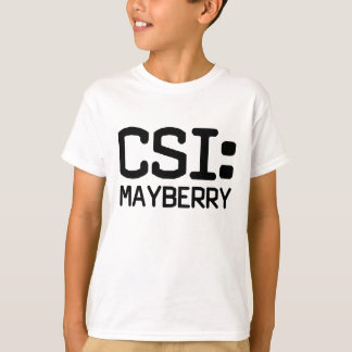 T-shirt CSI Mayberry