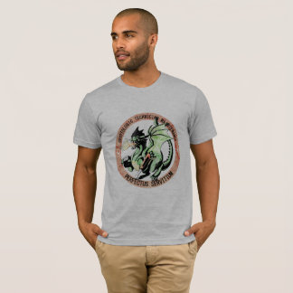 "T-shirt CTM ""hommage"" T affligé"