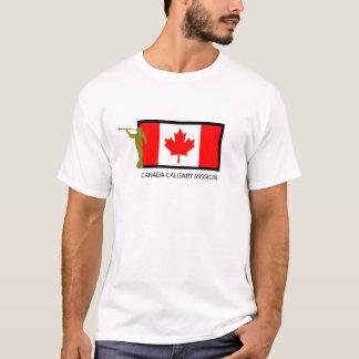 T-SHIRT CTR DE LA MISSION LDS DU CANADA CALGARY